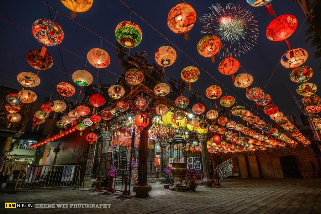 Puji Tempel in Tainan. Foto von Zheng Wei.