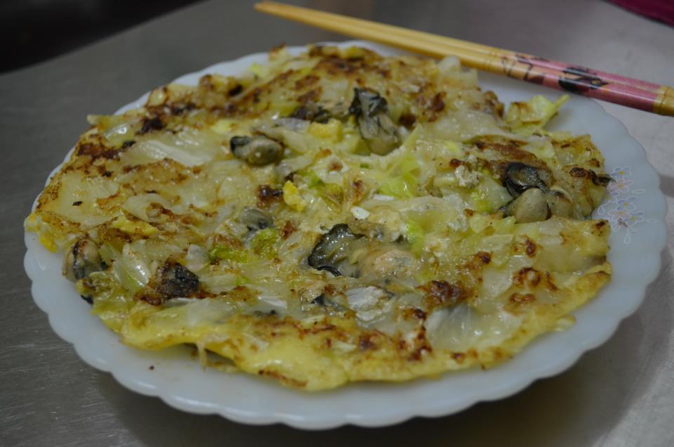 Austern Pfannkuchen, Foto(c) 陳正偉